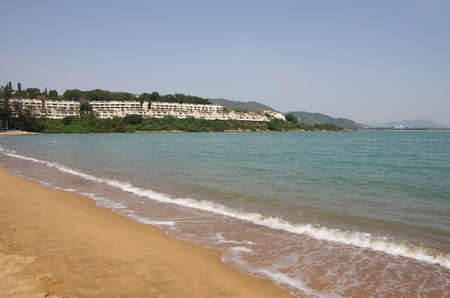 lantau: Discovery Bay is one of the most visited beaches on Lantau island in Hong Kong
