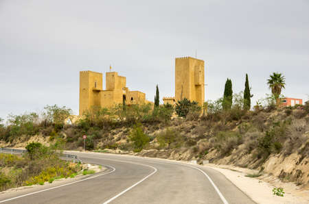 province: Old castle in province of Alicante, Spain Editorial
