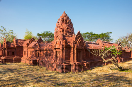 samut prakan: Ruins of buddhist temple in Samut Prakan province, Thailand Stock Photo