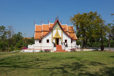 samut prakan: Temple in Ancient Siam (also known as Ancient City or Mueang Boran), Samut Prakan province, Thailand