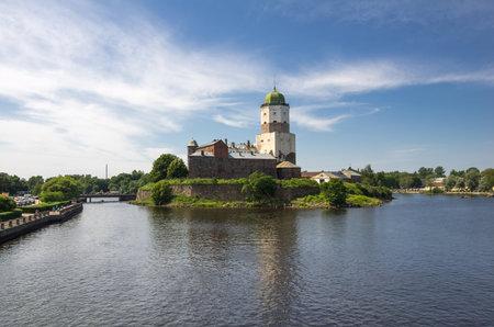 vyborg: Old Swedish castle in Vyborg, Leningrad region, Russia