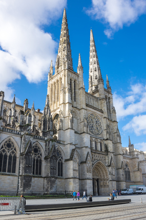 Bordeaux Cathedral (Cathedrale Saint-Andre de Bordeaux) is a Roman Catholic cathedral, seat of the Archbishop of Bordeaux-Bazas, located in Bordeaux, France