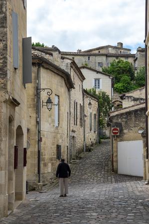 bordeaux region: Saint-Emilion - one of the main red wine production areas of Bordeaux region, France.