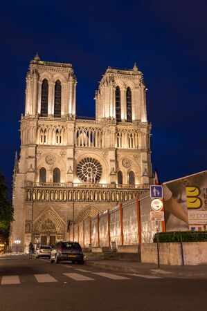 ile de la cite: PARIS, FRANCE - MAY 07, 2015: Notre-Dame de Paris (French for Our Lady of Paris) is a medieval Catholic cathedral on the Ile de la Cite in Paris, France. The cathedral is widely considered to be one of the finest examples of French Gothic architecture,