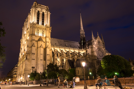 ile de la cite: Notre-Dame de Paris (French for Our Lady of Paris) is a medieval Catholic cathedral on the Ile de la Cite in Paris, France. The cathedral is widely considered to be one of the finest examples of French Gothic architecture, and is among the largest and m Editorial