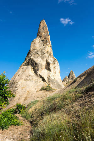 goreme: Stone formations in Goreme national park, Cappadocia, Turkey