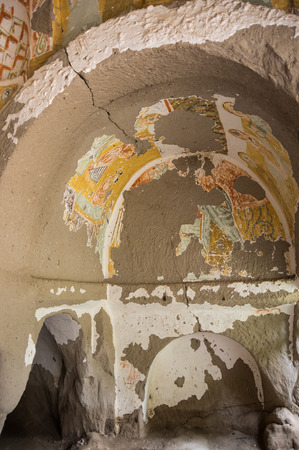 byzantine: Church from the Byzantine period built by the Cappadocian Greeks in Ihlara valley, Turkey