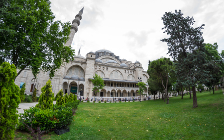The Suleymaniye Mosque is an Ottoman imperial mosque located on the Third Hill of Istanbul, Turkey. It is the largest mosque in the city, and one of the best-known sights of Istanbul
