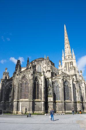 Bordeaux Cathedral (Cathedrale Saint-Andre de Bordeaux) is a Roman Catholic cathedral, seat of the Archbishop of Bordeaux-Bazas, located in Bordeaux