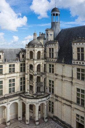 chateau: The royal Chateau de Chambord at Chambord, Loir-et-Cher, France