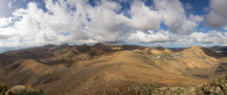 Volcanic landscape of the island of Lanzarote, Canary Islands, Spain Stock fotó