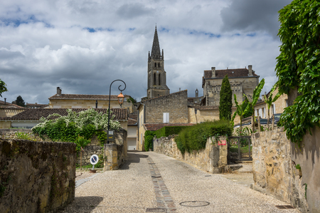 Saint-Emilion - one of the main red wine production areas of Bordeaux region, France.