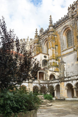 The Convent of Christ is a former Roman Catholic monastery in Tomar, Portugal. The convent was founded by the Order of Poor Knights of the Temple (or Templar Knights) in 1118