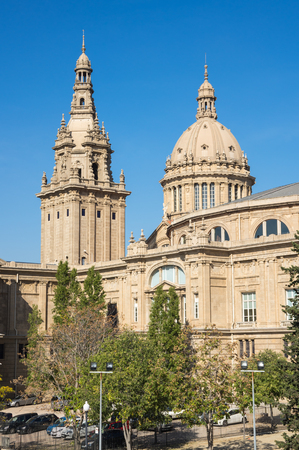 The National Palace was the main site of the 1929 International Exhibition on the hill of Montjuic in Barcelona. Since 1934 it has been home to the National Art Museum of Catalonia, Spain