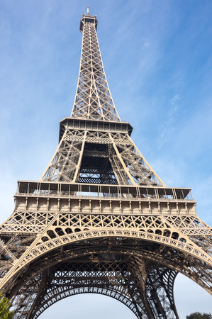 champ: The Eiffel Tower is a wrought iron lattice tower on the Champ de Mars in Paris, France