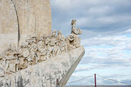 Monument to the Discoveries is a monument on the bank of the Tagus River estuary, in Lisbon, Portugal. The monument celebrates the Portuguese Age of Discovery (or Age of Exploration) during the 15th and 16th centuries Editorial