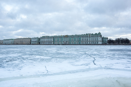 restored: The Winter Palace in Saint Petersburg, Russia, was the official residence of the Russian monarchs. Today, the restored palace forms part of a complex of buildings housing the Hermitage Museum