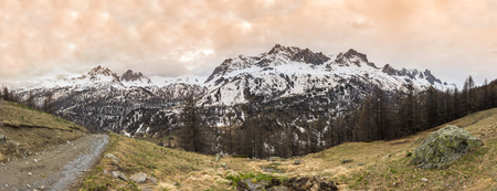 containing: Vanoise National Park is a French national park between the Tarentaise and Maurienne valleys in the French Alps, containing the Vanoise massif