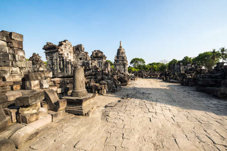 Prambanan or Rara Jonggrang is a 9th-century Hindu temple compound in Special Region of Yogyakarta, Indonesia