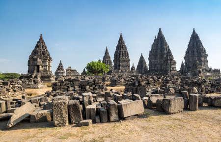 Prambanan or Rara Jonggrang is a 9th-century Hindu temple compound in Special Region of Yogyakarta, Indonesia