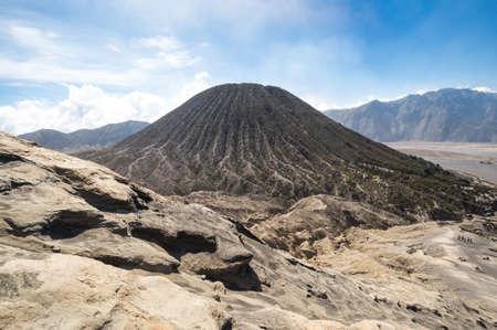 Mount Batok in Bromo Tengger Semeru National Park in East Java, Indonesia