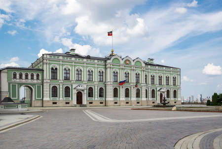 The Governor's Palace / Presidential palace on the territory of the Kazan Kremlin, Republic Tatarstan, Russia
