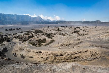 View of Bromo Tengger Semeru National Park, East Java, Indonesia