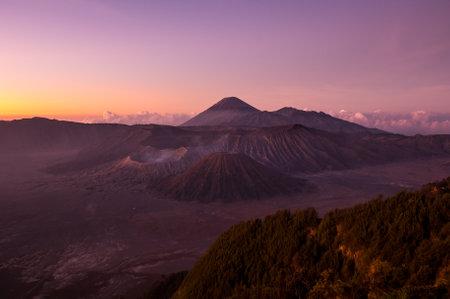 Bromo Tengger Semeru National Park in East Java, Indonesia