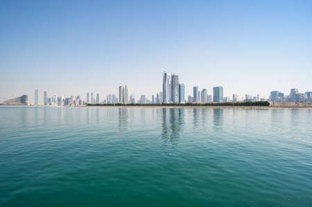 View of skyscrapers in Dubai, United Arab Emirates