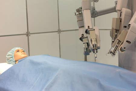 medical procedure: Experimental robotic surgery