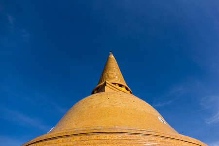 nakhon pathom: Phra Pathom Chedi is the tallest stupa in the world with the height of 127 metres 417 ft. It is located in the town of Nakhon Pathom, Thailand.