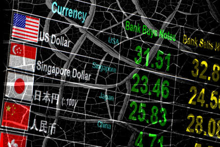 economy crisis: foreign currency exchange rate, economy crisis