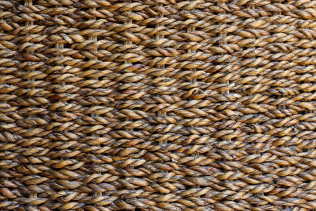 water hyacinth: woven water hyacinth, wicker texture background Stock Photo