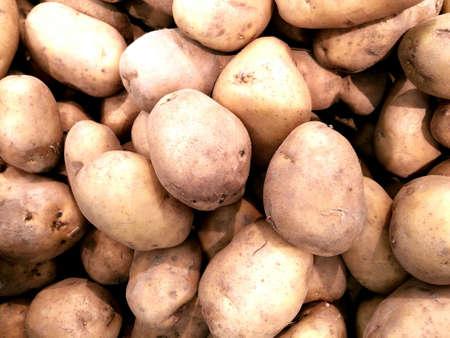 Potato  in the market Reklamní fotografie