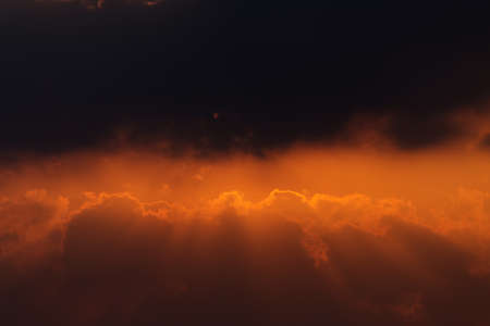 beautiful cloud and sky on twilight time Reklamní fotografie