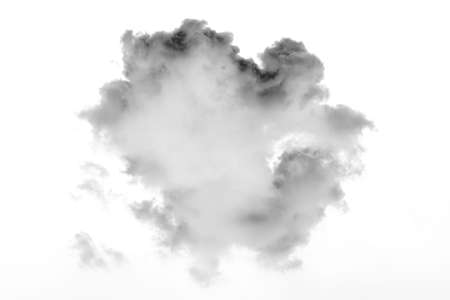 beautiful shape nature white cloud in white backgarond, nature and background concept.