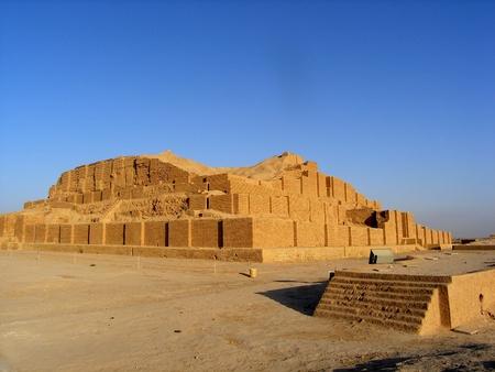 iran: Travel Iran  ziggurat Choqa Zanbil