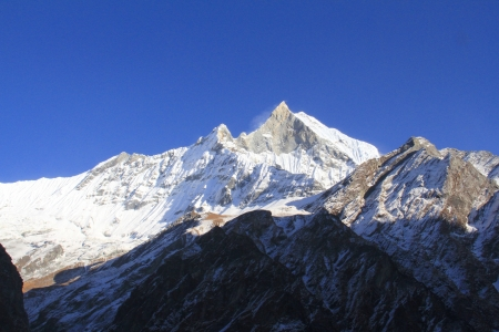 Himalaya: Fishtail mountain