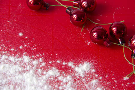 Red christmas background Stock Photo - 16571548