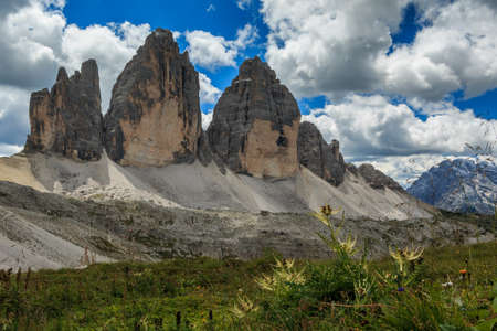 The Three Peaks. Dolomites of South Tyrol, Italy