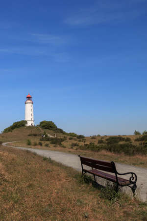 Way to Lighthouse Dornbusch, Iceland Hiddensee, Baltic sea