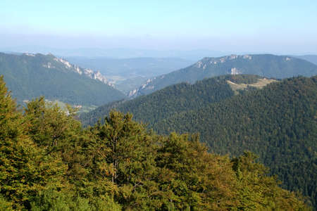 View of Mala Fatra mountains from Velky Krivan