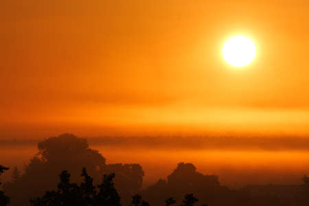 Sunrise in Bohemia  Stock Photo - 14517865
