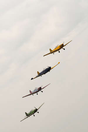 Air show formation  Editorial