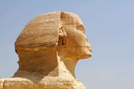 Sphinx in Giza, Cairo, Egypt