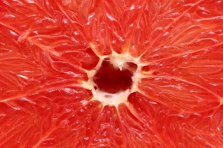big red grapefruit filling all the frame