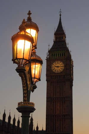 Big Ben Tower in the evening