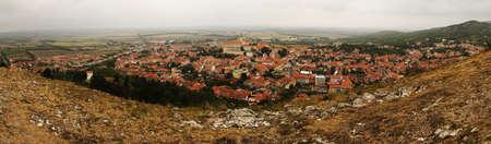 Mikulov town in South Moravia