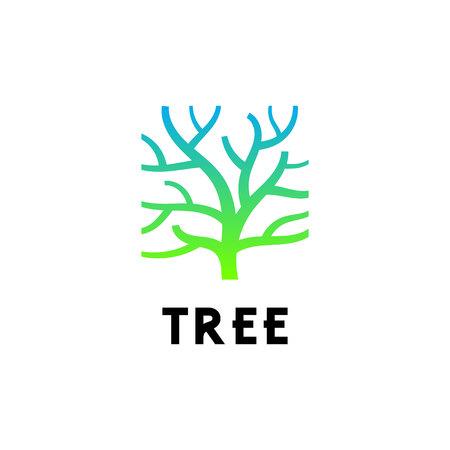 Tree Trunk Logo Design Inspiration