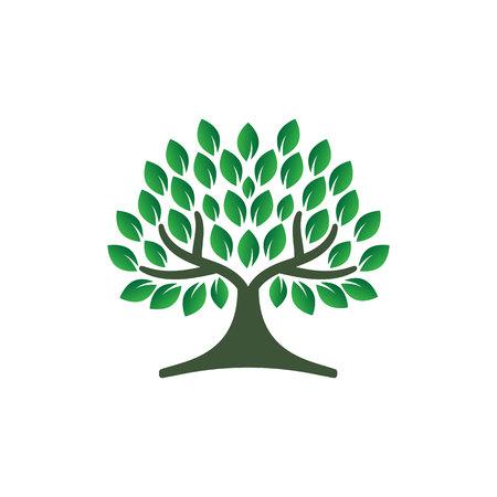Inspiration de conception de logo d'arbre Logo